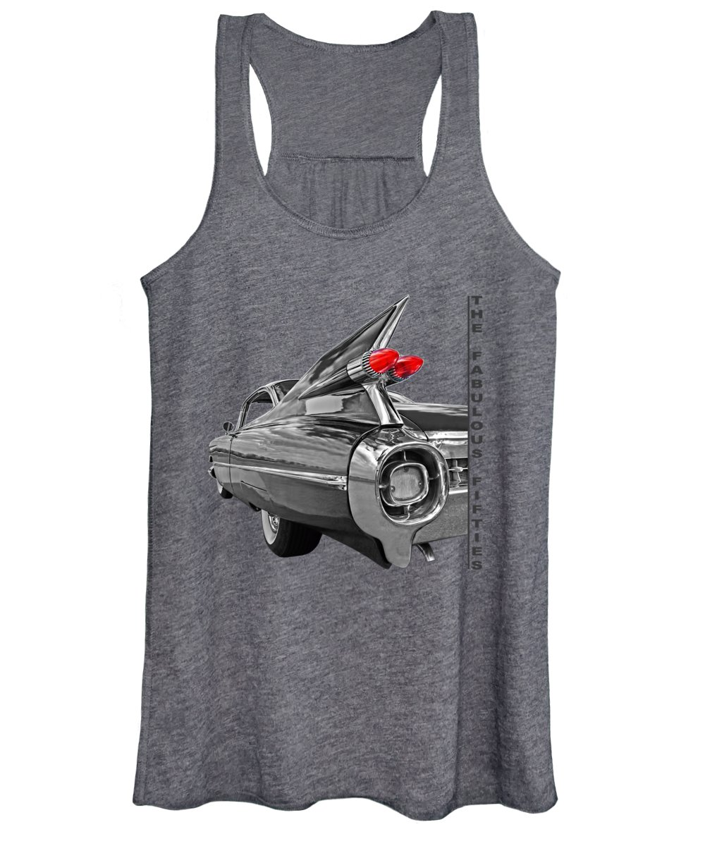 Automobile Photographs Women's Tank Tops