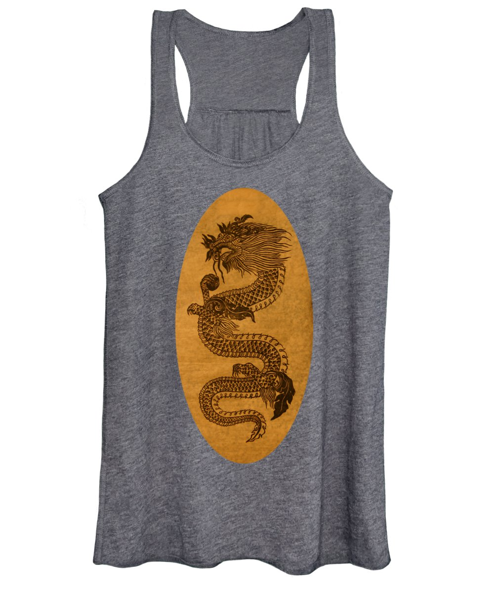 Dragon Women's Tank Top featuring the photograph Dragon 2 by Robert E Alter Reflections of Infinity
