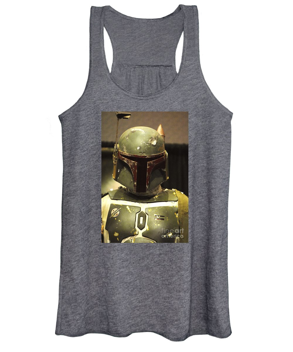 Boba Fett Women's Tank Top featuring the photograph The Real Boba Fett by Micah May