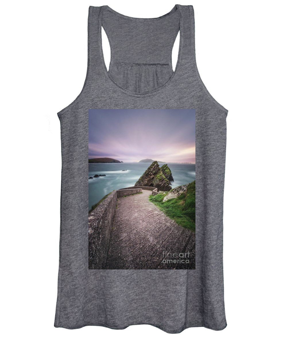Kremsdorf Women's Tank Top featuring the photograph A Song For Ireland by Evelina Kremsdorf