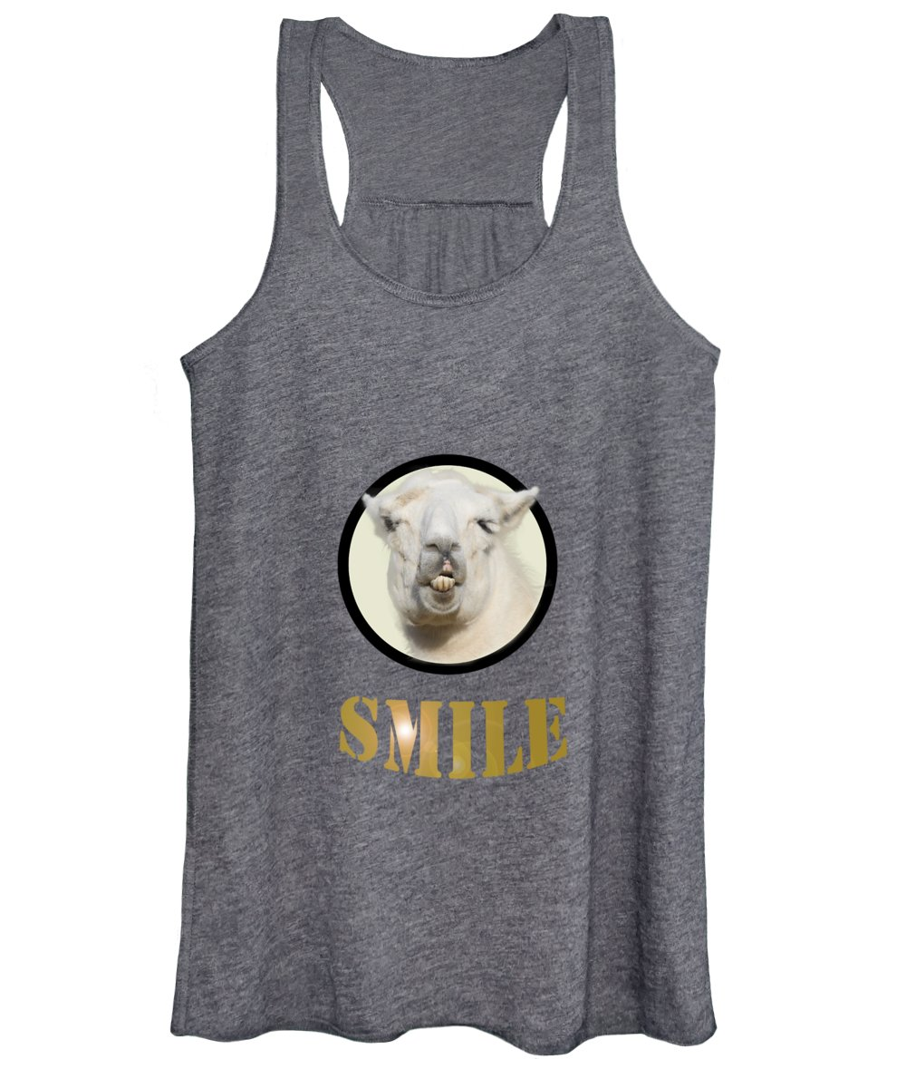 Llama Photographs Women's Tank Tops