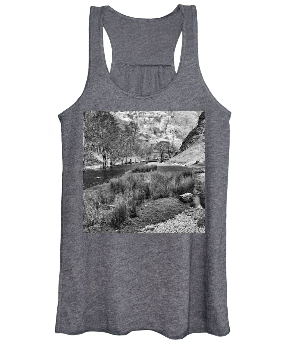 Dale Women's Tank Top featuring the photograph Dovedale, Peak District UK by John Edwards