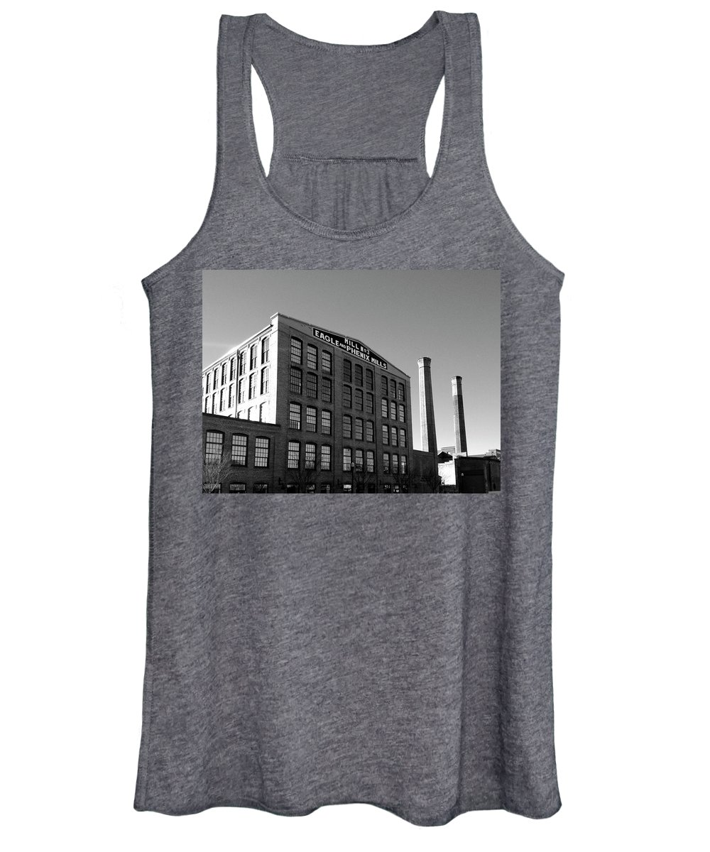 Architecture Women's Tank Top featuring the photograph Factory by Dick Goodman