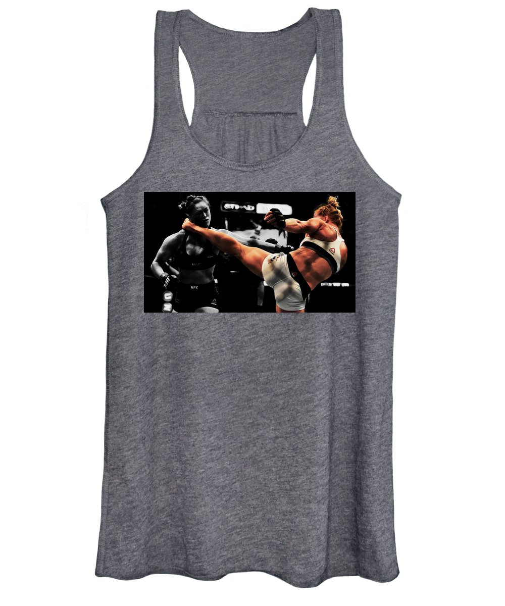 Ultimate Fighter Mixed Media Women's Tank Tops