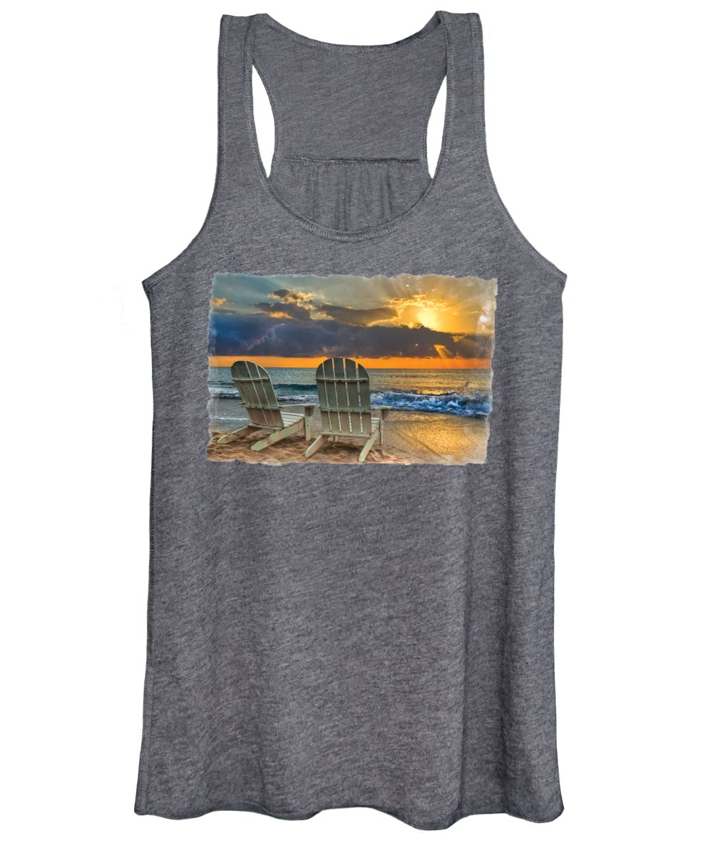 Beautiful Sunrise Photographs Women's Tank Tops