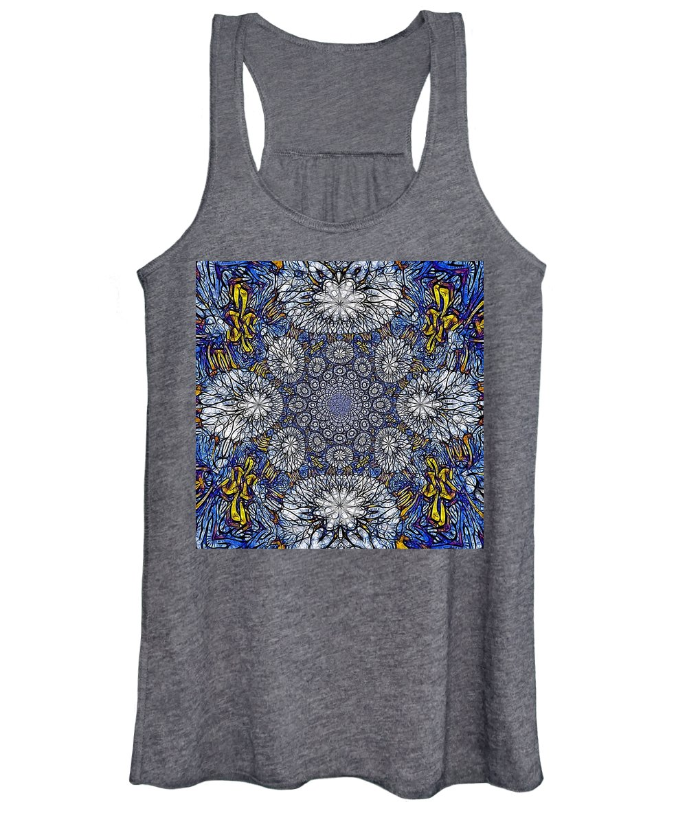 Celtic Women's Tank Top featuring the photograph Knotted Glasswork by Nick Heap
