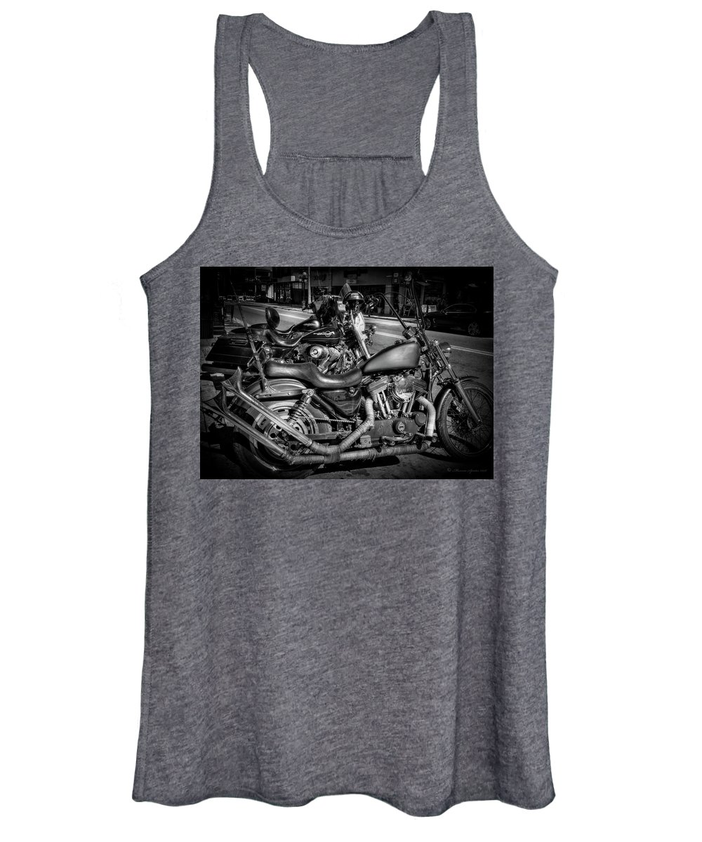 Ybor City Women's Tank Top featuring the photograph Let's Ride by Marvin Spates