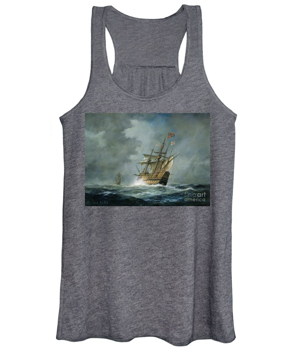 Mary Rose Women's Tank Top featuring the painting Mary Rose by Richard Willis