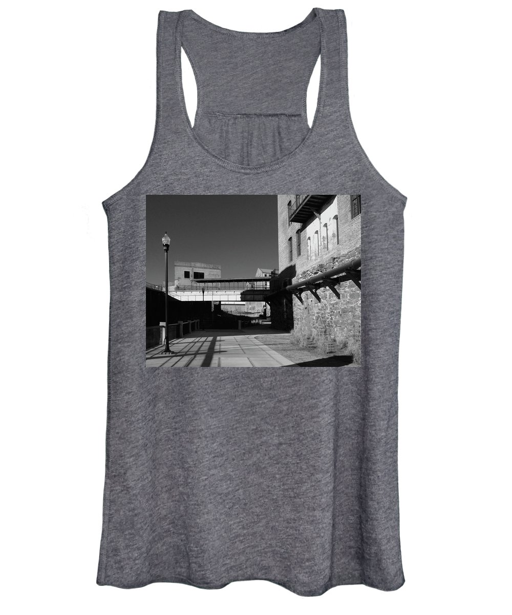 Architecture Women's Tank Top featuring the photograph Silence On The Banks Of The Chattahoochee by Dick Goodman