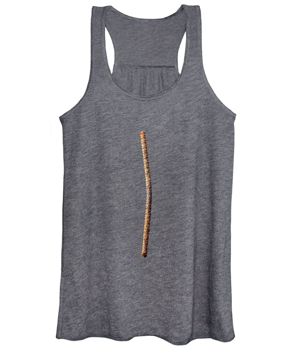 Concrete Women's Tank Top featuring the photograph Tools On Wood 54 by YoPedro