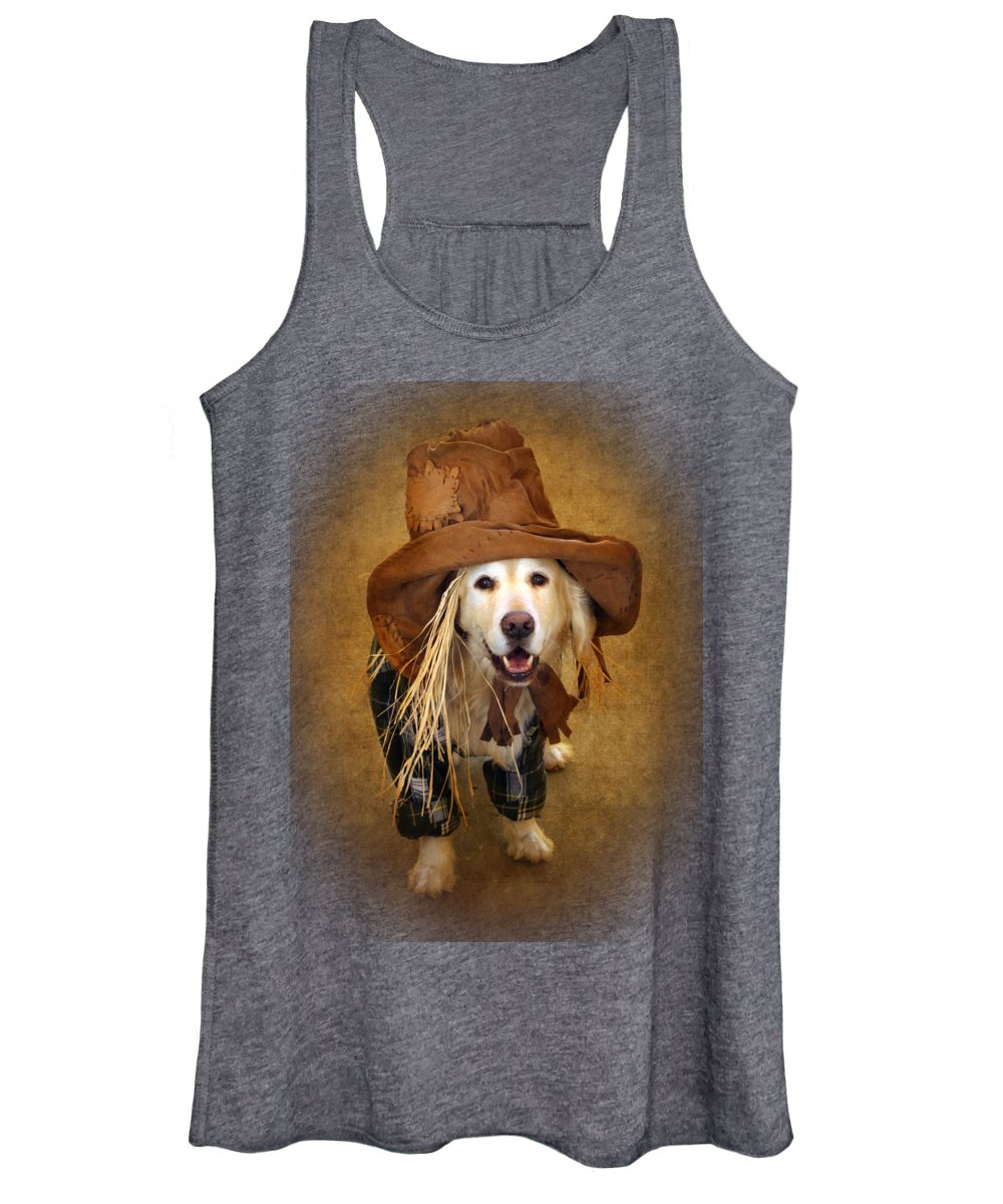 Animal Women's Tank Top featuring the photograph Trick Or Treat by Jessica Jenney