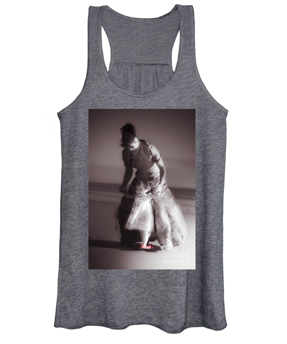 Adorable Women's Tank Top featuring the photograph Unforgettable Family Memories by Jorgo Photography - Wall Art Gallery