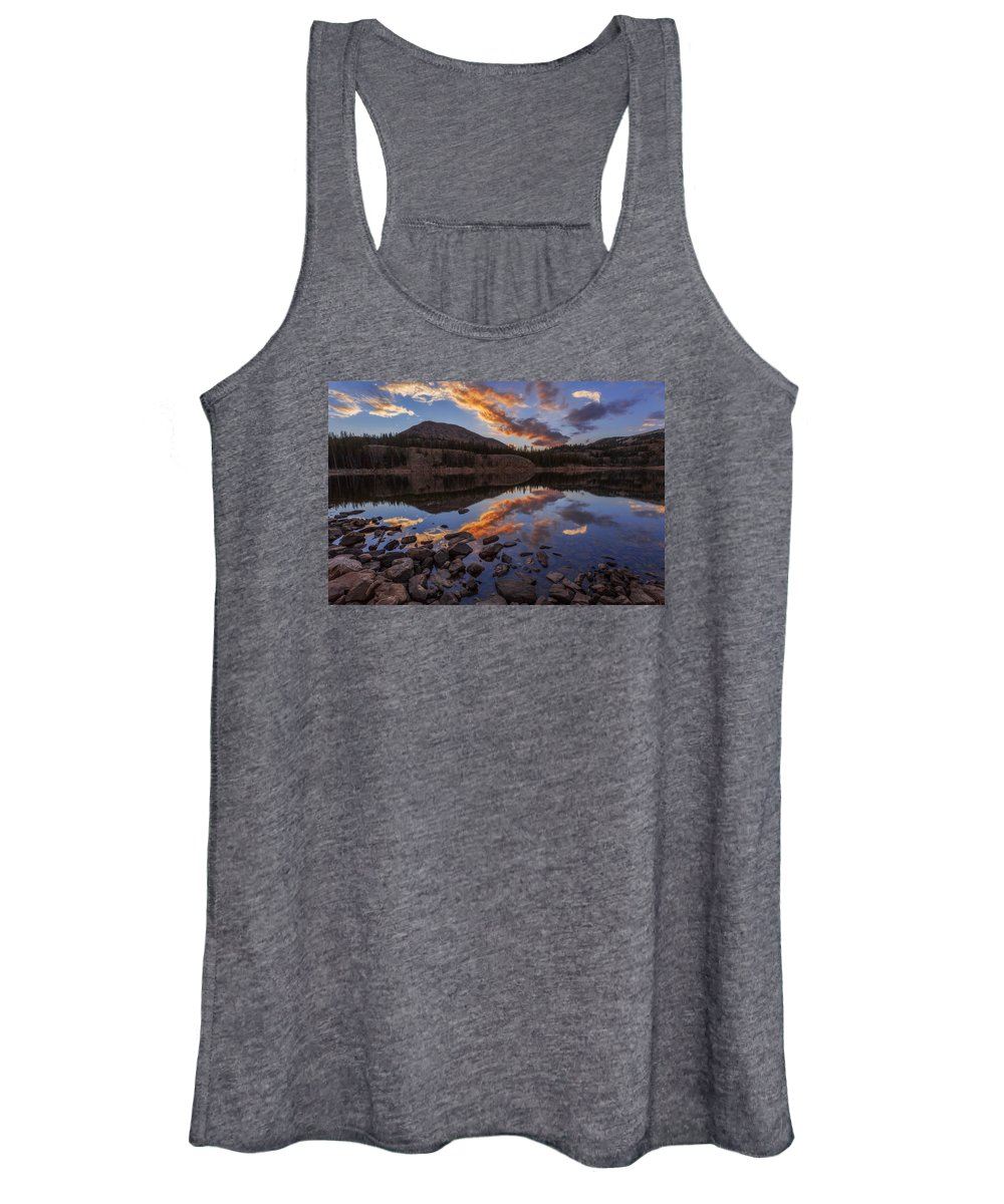 Wall Reflection Women's Tank Top featuring the photograph Wall Reflection by Chad Dutson