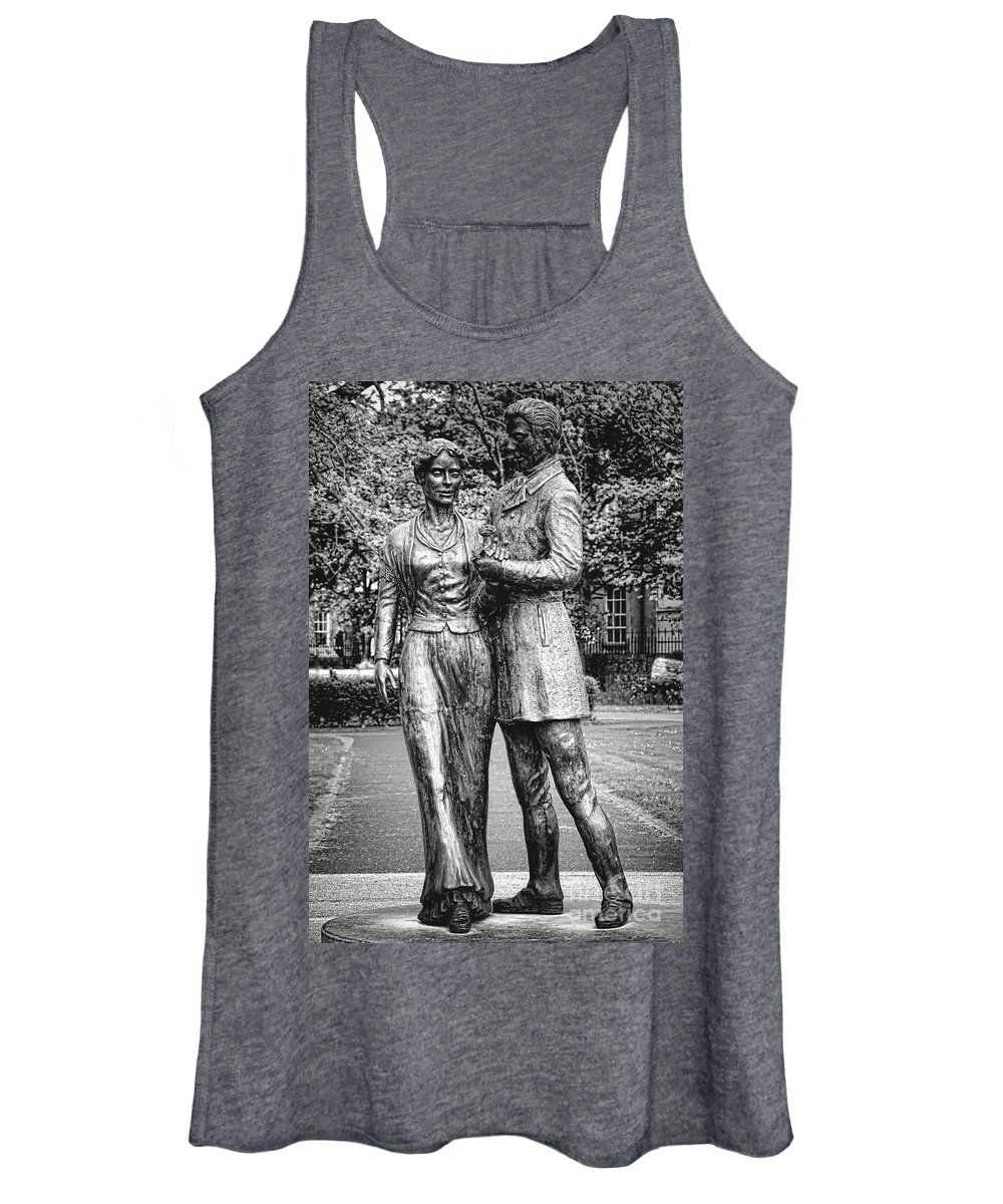 Tralee Women's Tank Top featuring the photograph Rose Of Tralee by Olivier Le Queinec