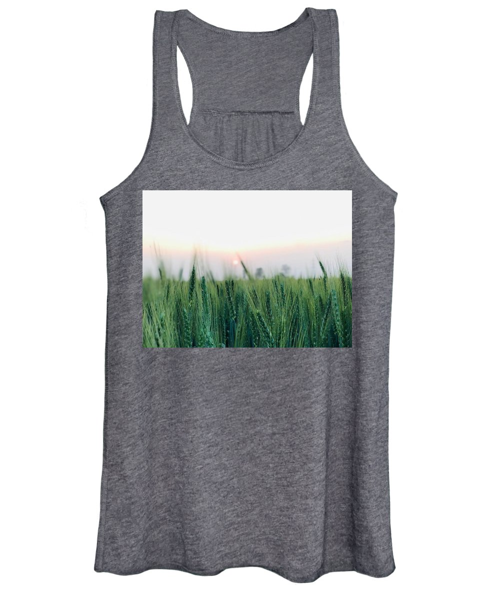 Lanscape Women's Tank Top featuring the photograph Greenery by Prashant Dalal