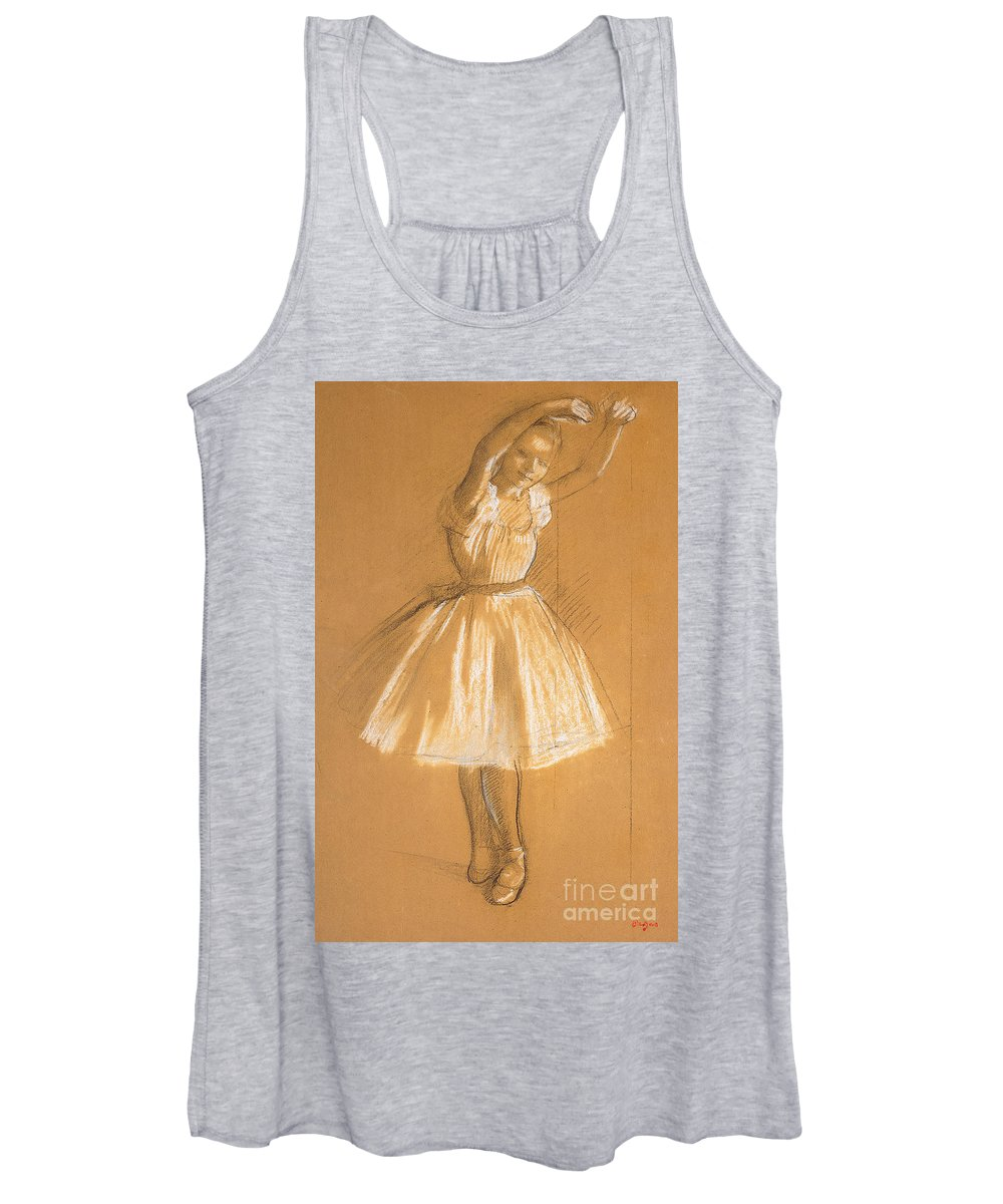 Impressionistic Drawings Women's Tank Tops