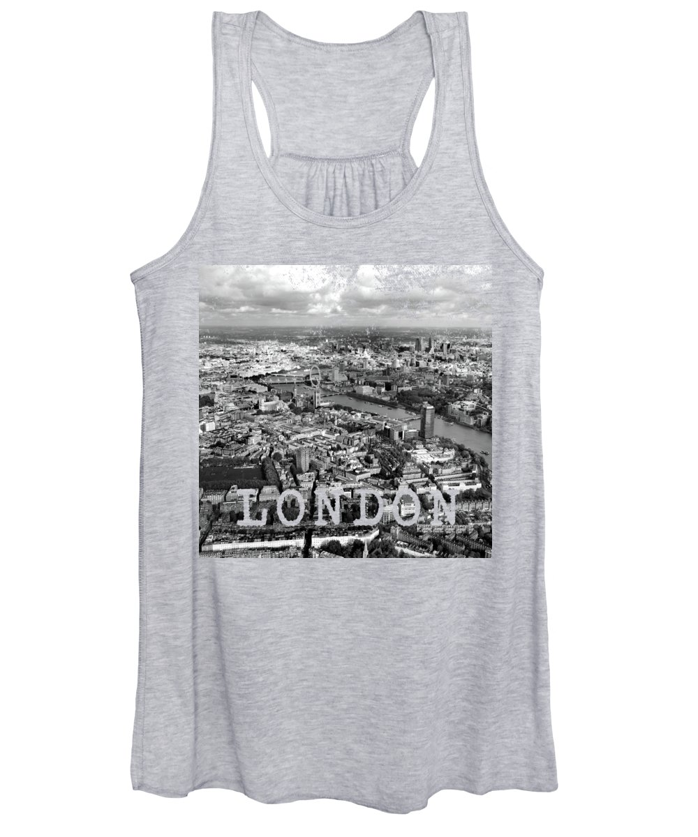 London Eye Photographs Women's Tank Tops