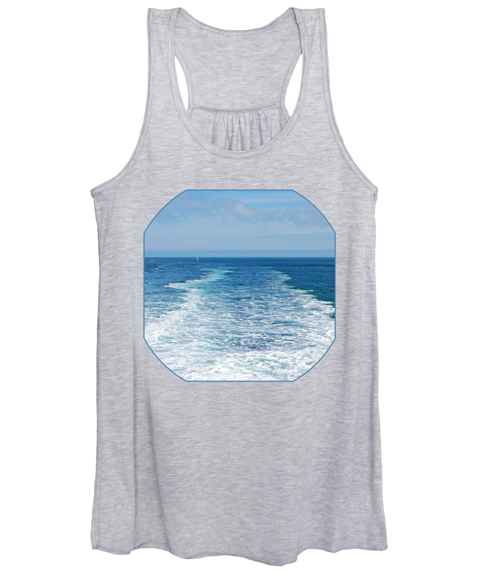 Seascape Women's Tank Top featuring the photograph Bon Voyage by Gill Billington