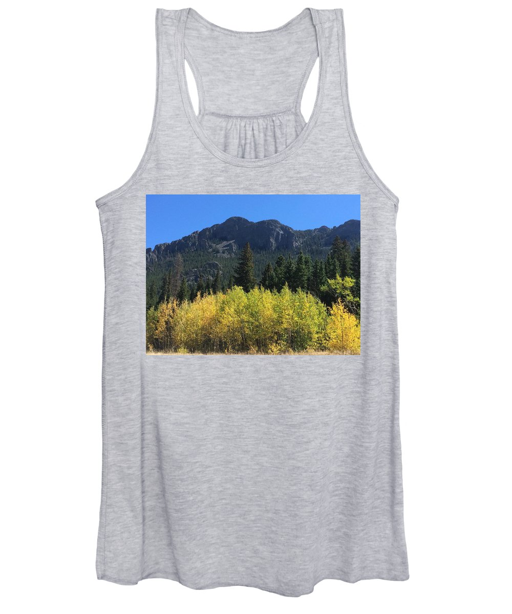 Mountain Landscape Women's Tank Tops