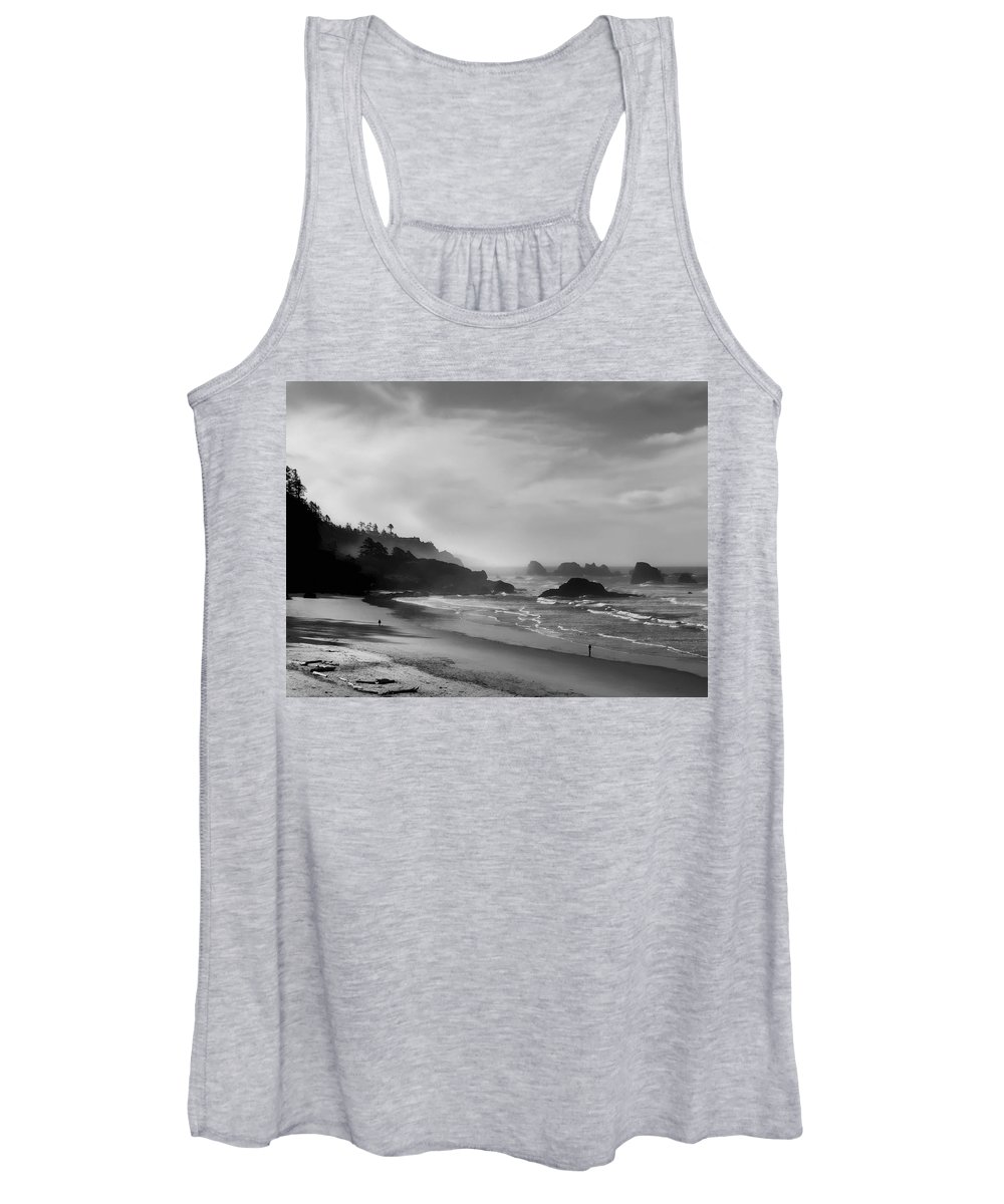 oregon Coast Women's Tank Top featuring the photograph Indian Point Beach - Oregon Coast by Daniel Hagerman