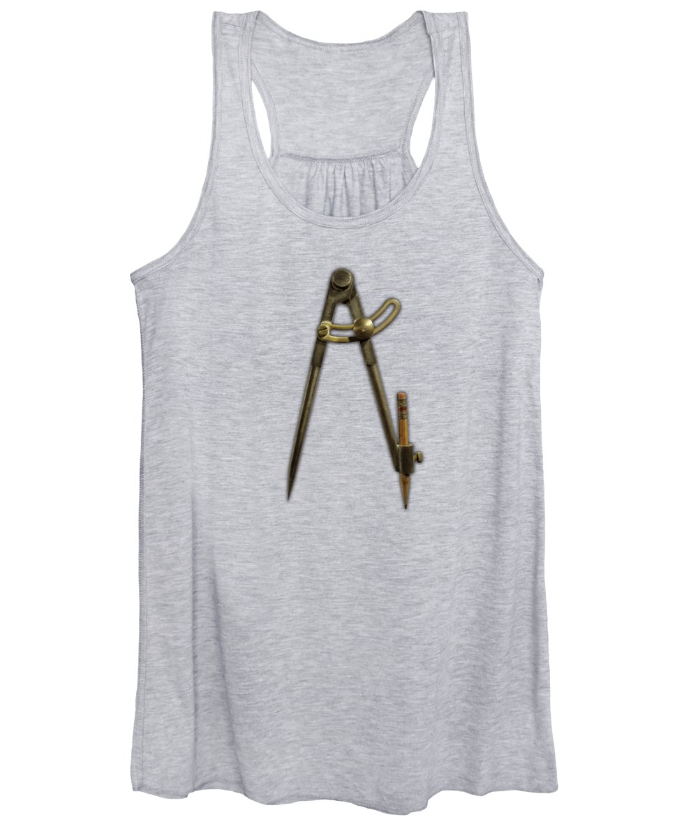 Mechanical Photographs Women's Tank Tops