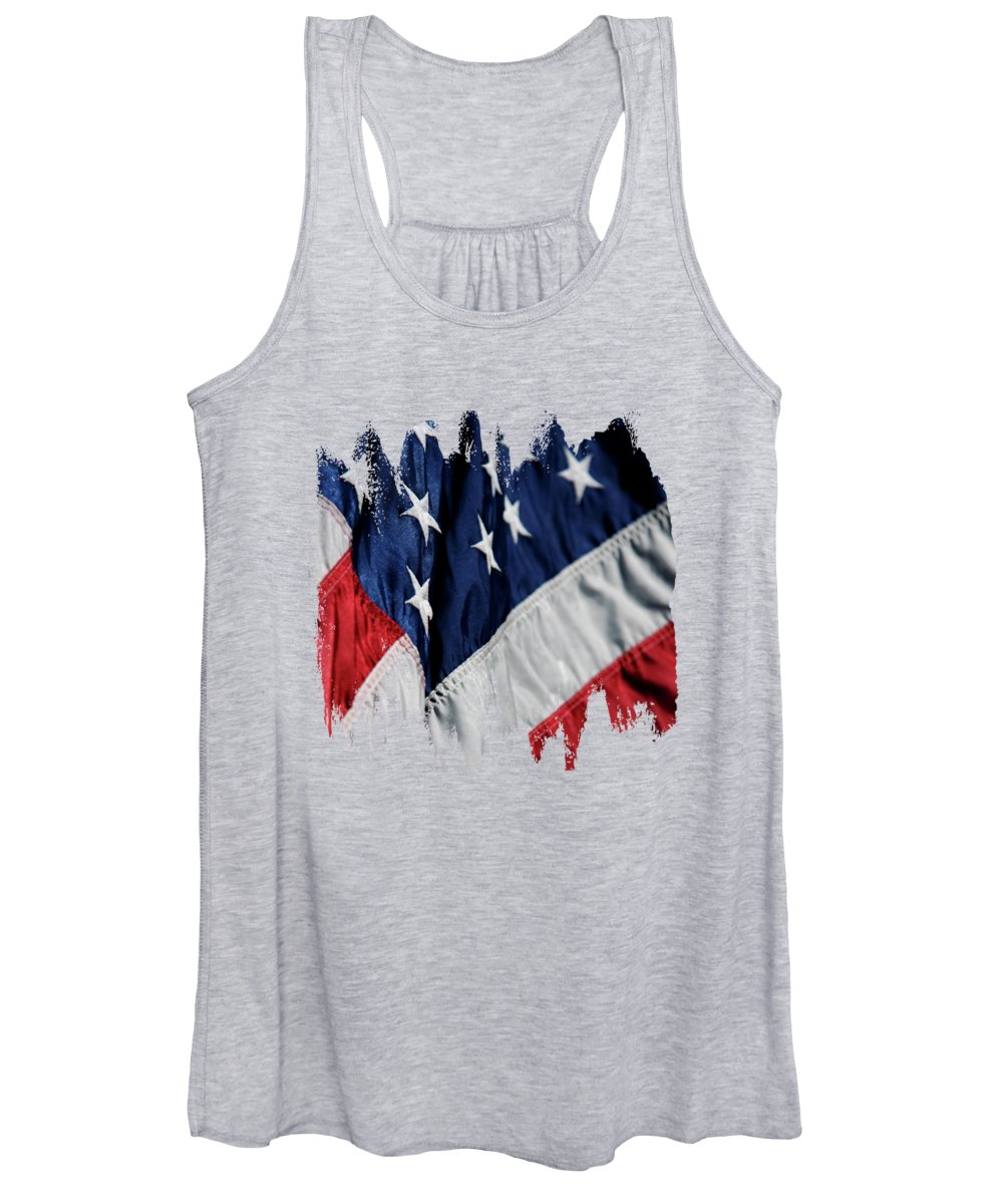 Declaration Of Independence Photographs Women's Tank Tops