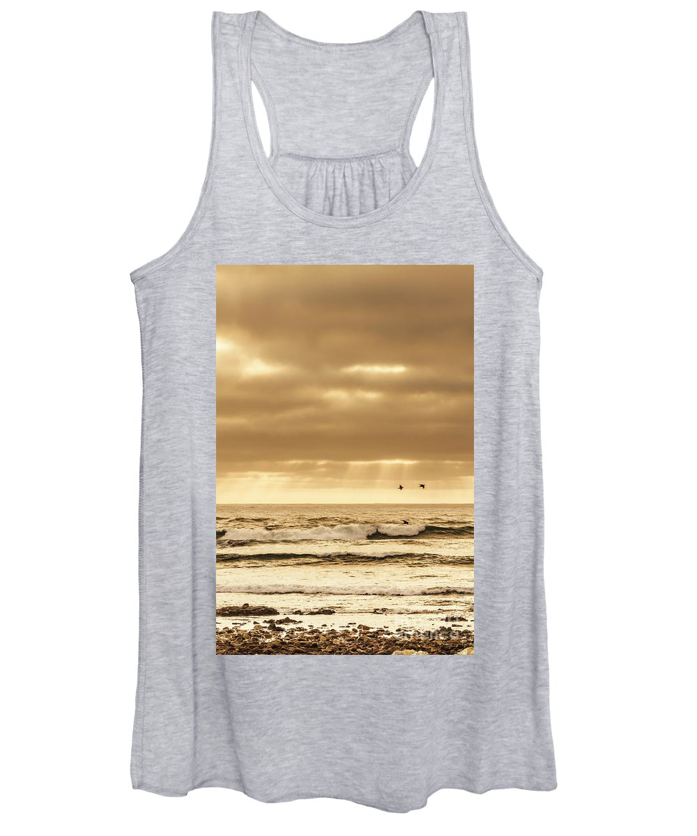 Sea Women's Tank Top featuring the photograph Marine Dream by Jorgo Photography - Wall Art Gallery