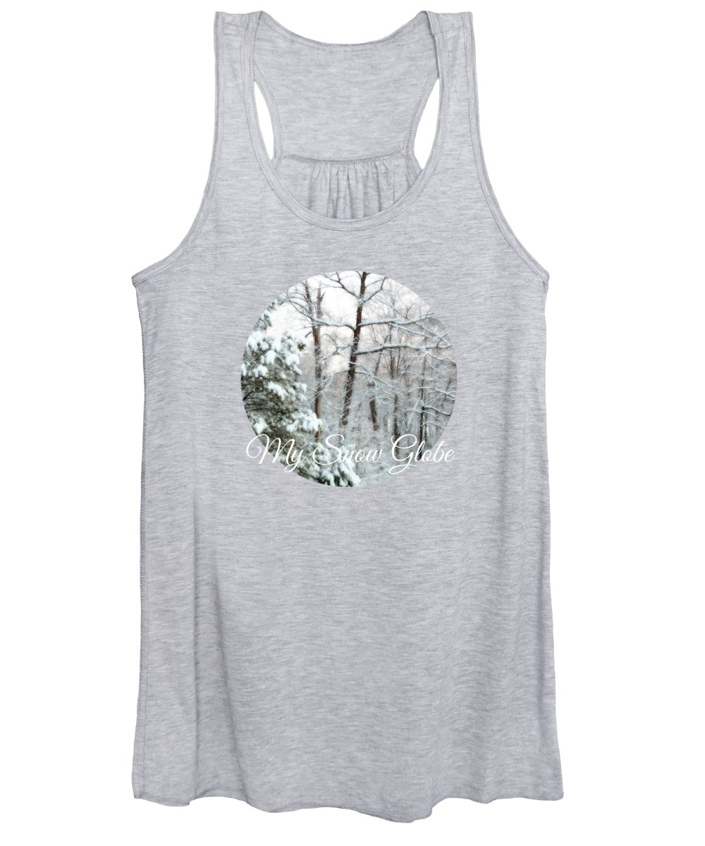 Snow Covered Mountains Photographs Women's Tank Tops