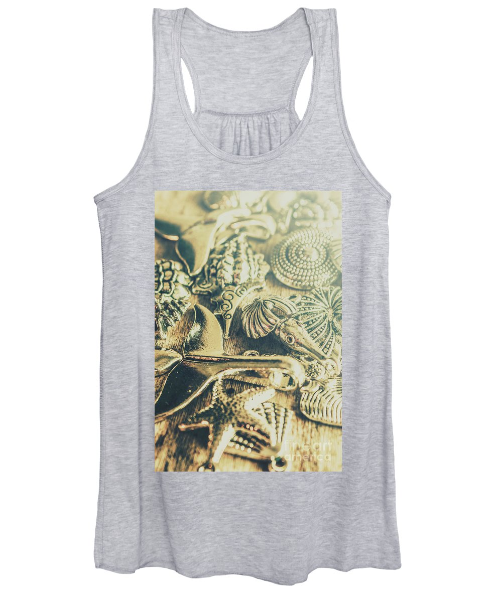 Ocean Women's Tank Top featuring the photograph The Aquatic Abstraction by Jorgo Photography - Wall Art Gallery