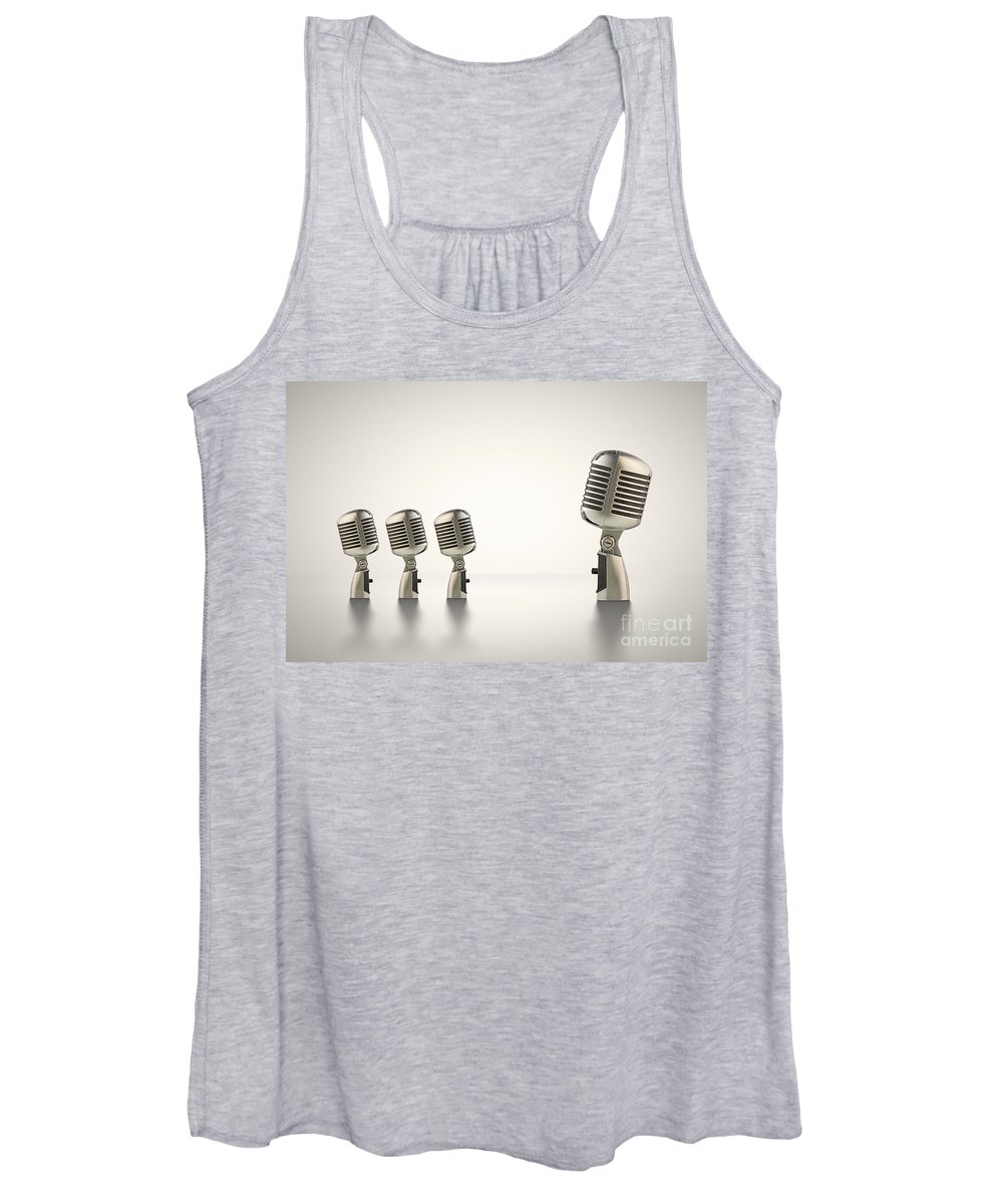 Big Women's Tank Top featuring the photograph The Big Talk by Johan Swanepoel