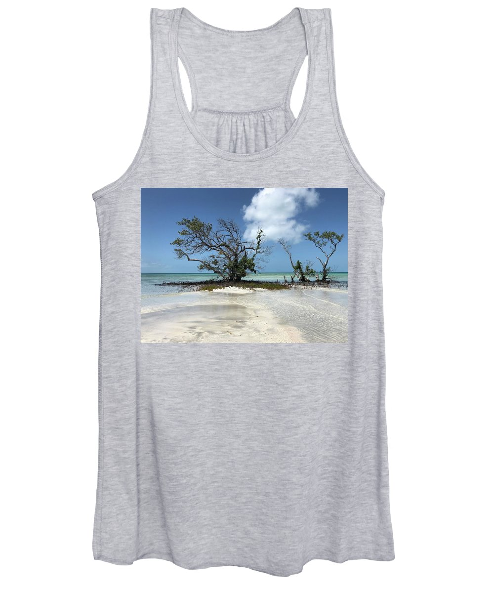 Key West Florida Waters Women's Tank Top featuring the photograph Key West Waters by Ashley Turner