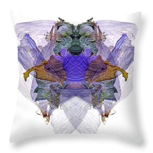 Discover The Magical World Throw Pillow featuring the photograph M.deltet by Luc Bovet