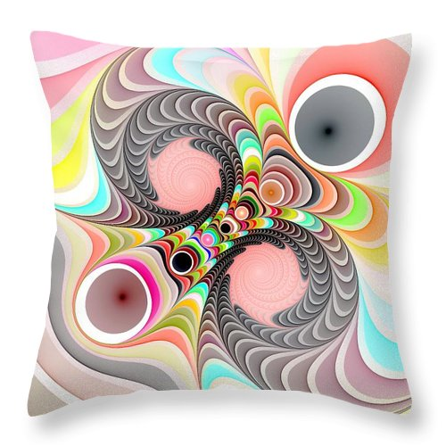 Still Life Throw Pillow featuring the painting 0069 by I J T Son Of Jesus
