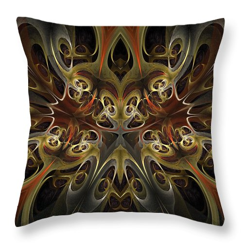 Still Life Throw Pillow featuring the painting 0239 by I J T Son Of Jesus