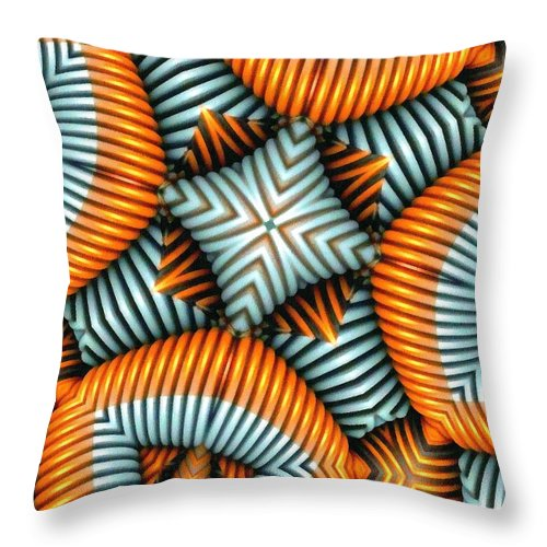 Still Life Throw Pillow featuring the painting 0385 by I J T Son Of Jesus