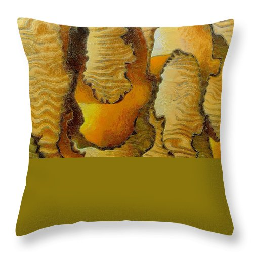 Still Life Throw Pillow featuring the painting 0386 by I J T Son Of Jesus