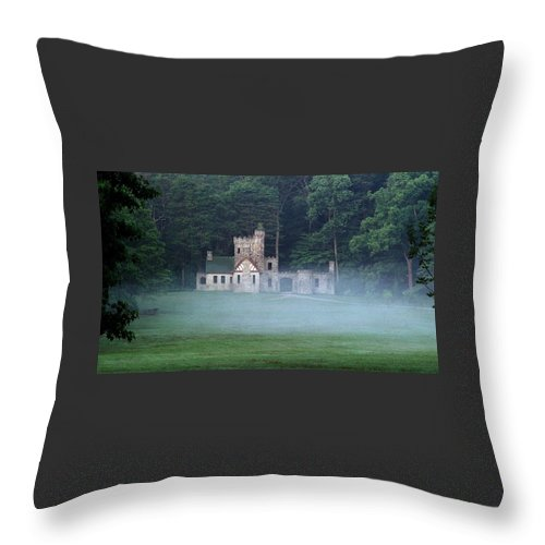 Squire Throw Pillow featuring the photograph 070506-42 by Mike Davis