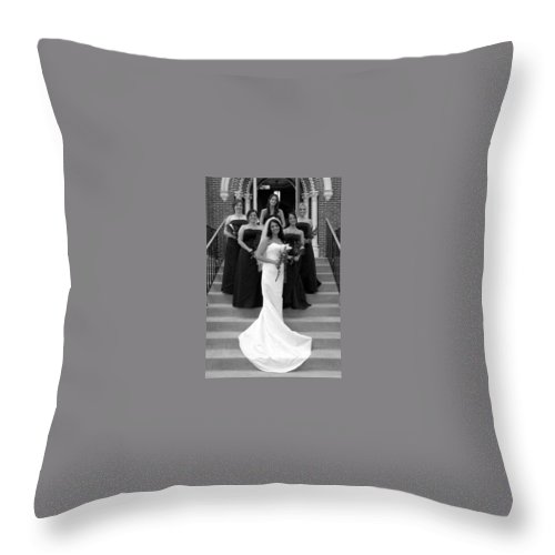 Throw Pillow featuring the photograph 08 by Michael Dorn