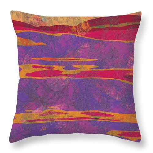 Abstract Throw Pillow featuring the digital art 0858 Abstract Thought by Chowdary V Arikatla