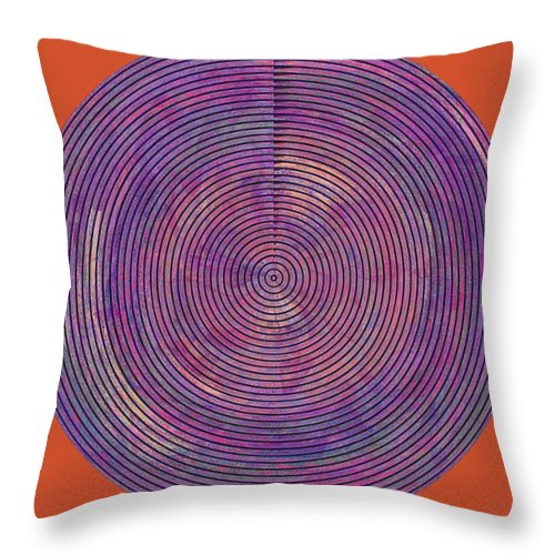 Abstract Throw Pillow featuring the digital art 0965 Abstract Thought by Chowdary V Arikatla