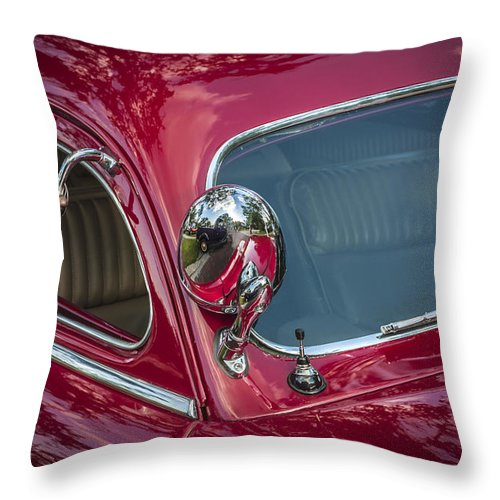 1949 Mercury Club Coupe Throw Pillow featuring the photograph 1949 Mercury Club Coupe by Rich Franco