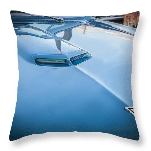 1967 Pontiac Gto Throw Pillow featuring the photograph 1967 Pontiac Gto by Rich Franco