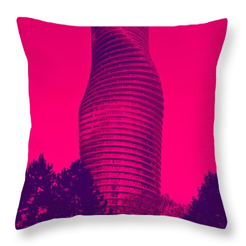 Art Throw Pillow featuring the photograph Absolute Tower by Les Lorek