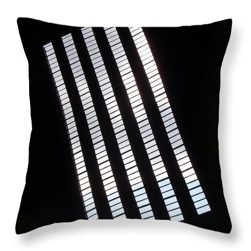 Abstract Throw Pillow featuring the photograph After Rodchenko by Rona Black