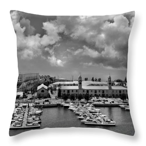 Bermuda Throw Pillow featuring the photograph Bermuda by Elvira Pinkhas