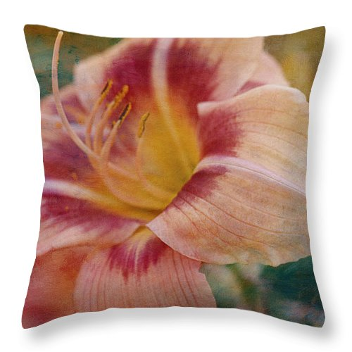 Summer Throw Pillow featuring the photograph Briefly Beautiful by Maria Angelica Maira