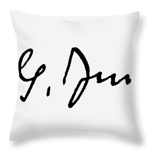 19th Century Throw Pillow featuring the photograph Carl Gustav Jung by Granger