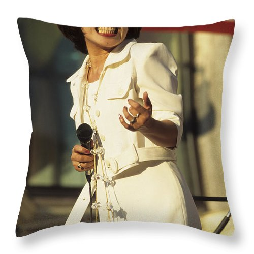 Music Throw Pillow featuring the photograph Charito by Pierre Roussel