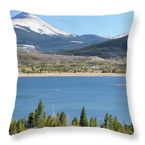 Scenics Throw Pillow featuring the photograph Colorado Landscape by Rivernorthphotography