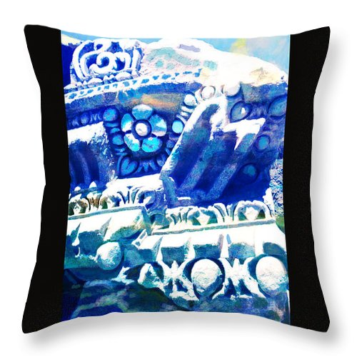 Throw Pillow featuring the painting Corporate Art 005 by Catf